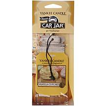 image of Yankee Candle Car Jar Vanilla Cupcake