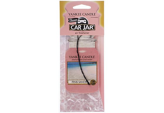 Yankee Candle Car Jar Pink Sands