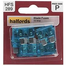 image of Halfords Fuse Standard Blade  15 Amp  (HFS289)