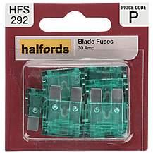 image of Halfords Fuse Standard Blade 30 Amp  (HFS292)