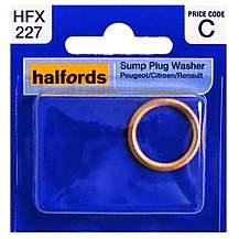 image of Halfords Sump Plug Washer (Peugeot/Citroen/Renault) HFX227