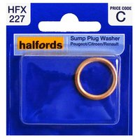 Halfords Sump Plug Washer (Peugeot/Citroen/Renault) HFX227