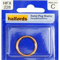 Halfords Sump Plug Washer (Renault/Ford/Volvo) HFX228
