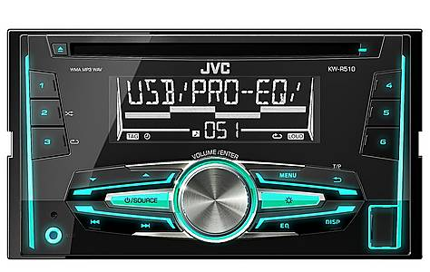 image of JVC KW-R510 Double Din Car Stereo