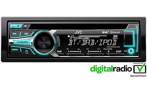 image of JVC KD-DB95BT DAB Car Radio