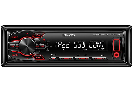 Kenwood KMM-261 Mechless iPod/USB Car Stereo