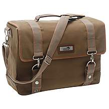 image of New Looxs NL MONDI SINGLE PANNIER CANVAS BROWN