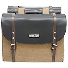 image of New Looxs NL BOLZANO DOUBLE PANNIER BROWN