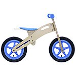 image of Apollo Wooden Balance Bike Blue