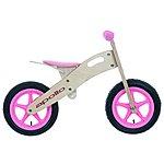 image of Apollo Wooden Balance Bike Pink