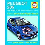 Haynes Peugeot 206 (98 - 01) Manual
