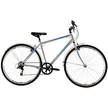 image of Falcon Rapid Mens Hybrid Bike - 19""