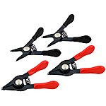 image of Rolson 4pc Mini Circlip Pliers