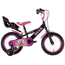 image of Townsend Diva Girls Bike - 14""