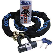 image of Oxford Heavy Duty Chain Lock 1 Metre x 9.5mm
