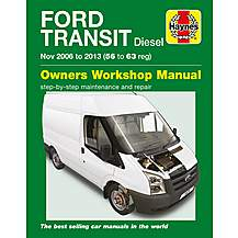 image of Haynes Ford Transit Diesel (06-13) Manual