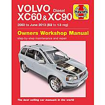 image of Haynes Volvo XC60 & XC90 Diesel (03-13) Manual