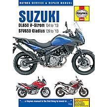 image of Haynes Manual Suzuki DL650 V Storm & SFV650 Gladius (04-13)
