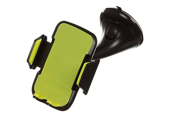 Halfords Green Smartphone Suction Holder