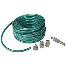 image of Halfords 30 Metre Garden Hose with Fittings