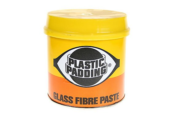 Plastic Padding Glass Fibre Paste