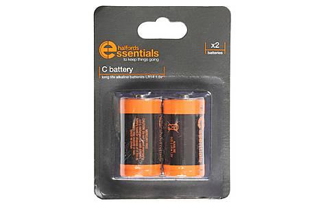 image of Halfords Essential Batteries C x2