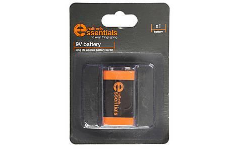 image of Halfords Essential Batteries 9V x1