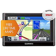 "image of Garmin nuvi 65LM 6"" Sat Nav with UK & Ireland Lifetime Maps"
