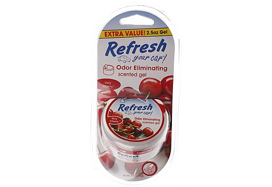 Refresh Gel Very Cherry Car Air Freshener 2.5 oz