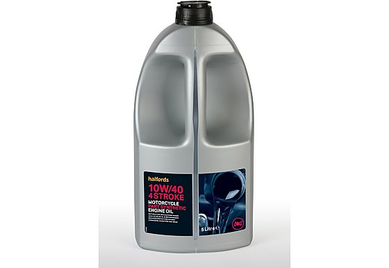 Halfords Motorcycle Engine Oil Part Synthetic 10W/40 - 5ltr