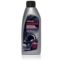 Halfords Motorcycle and Scooter Engine Oil 2 Stroke - 1ltr