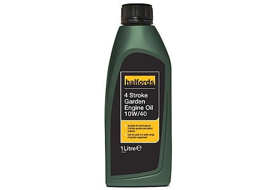 Halfords 4 Stroke Garden Engine Oil 1L