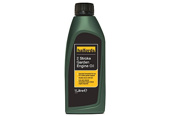 Halfords 2 Stroke Garden Engine Oil 1L