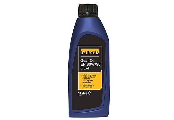 Halfords Gear Oil EP 80W/90 GL-4 1L