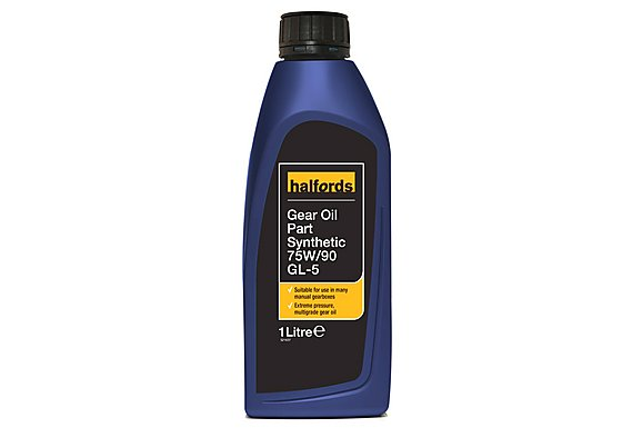 Halfords Gear Oil EP 75W/90 GL-5 1L