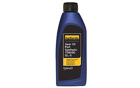image of Halfords Gear Oil EP 75W/90 GL-5 1L
