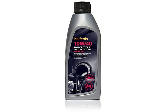 Halfords Motorcycle Gear Oil 10W40 1L