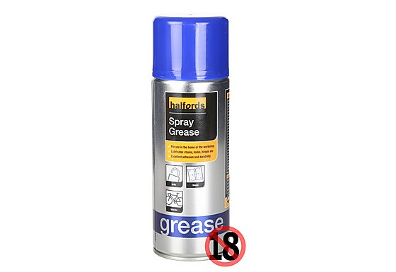 Halfords Spray Grease 400ml
