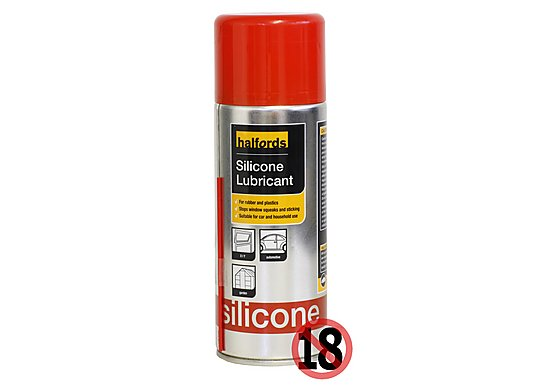 Halfords Silicone Lubricant 400ml