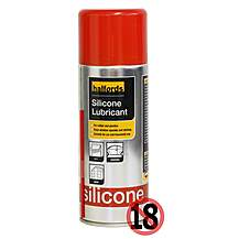 image of Halfords Silicone Lubricant 400ml