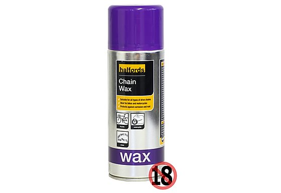 Halfords Chain Wax 400ml