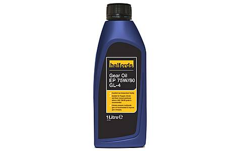 image of Halfords Gear Oil EP 75W/80 GL-4 1L