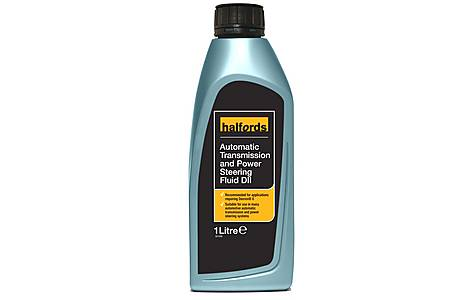 image of Halfords Automatic Transmission & Power Steering Fluid DII 1L