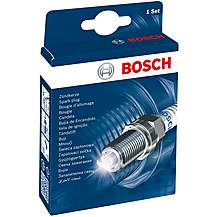 image of Bosch +7 Super Plus Spark Plug x4
