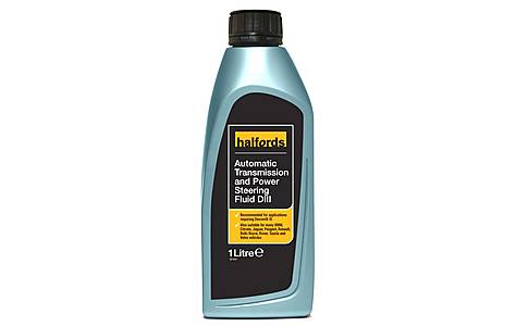 image of Halfords Automatic Transmission & Power Steering Fluid DIII 1L