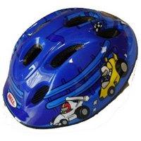 Bell Jumpstart Blue Cars Bike Helmet (48-53cm)