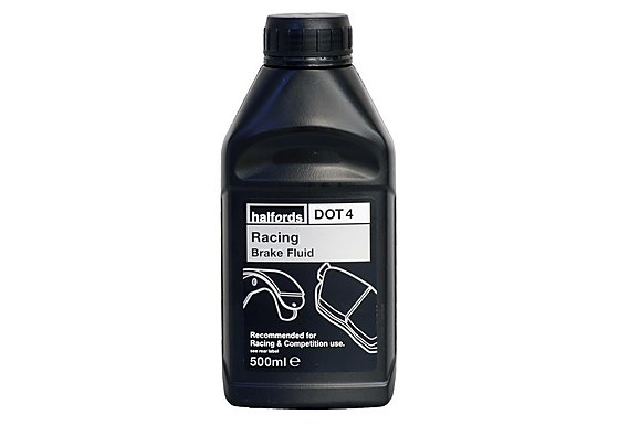 Halfords Racing Brake Fluid DOT 4 500ml