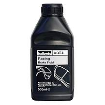 image of Halfords Racing Brake Fluid DOT 4 500ml