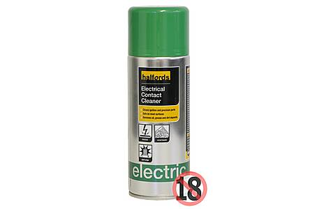 image of Halfords Electrical Contact Cleaner 400ml
