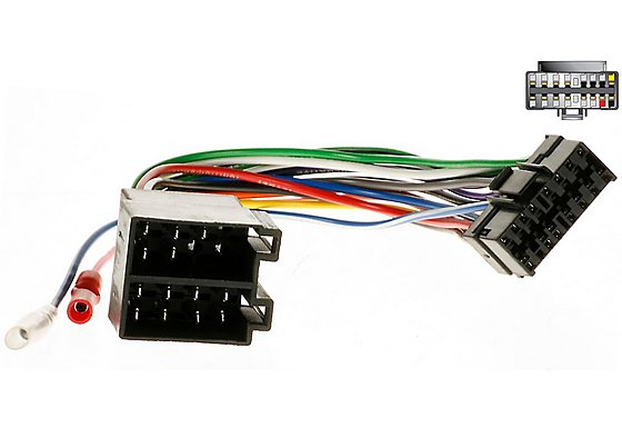 Autoleads Sony ISO Car Audio Connector PC3-433